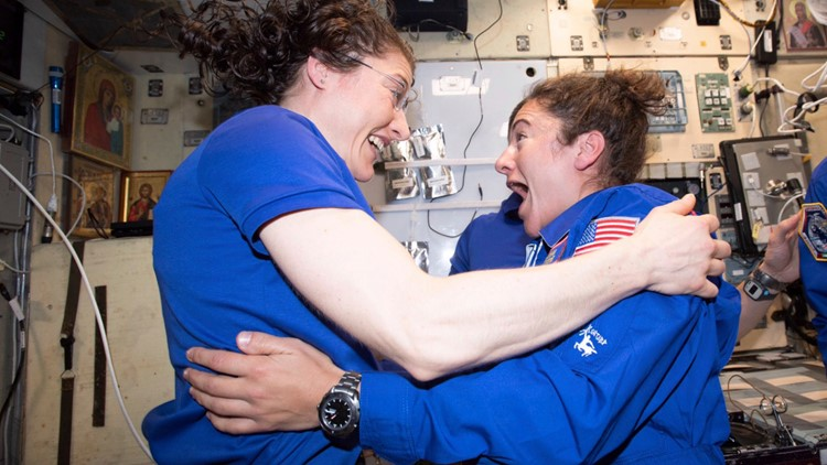 Space Station All Female Spacewalk