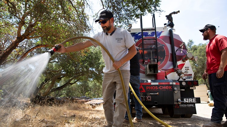 'Once you treat it, you can forget it': Preventative fire retardant gets US OK in fighting wildfires