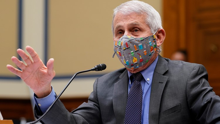 Fauci says masks could become seasonal after coronavirus pandemic
