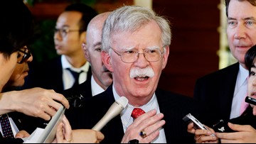 President Trump says John Bolton is out as National Security Adviser
