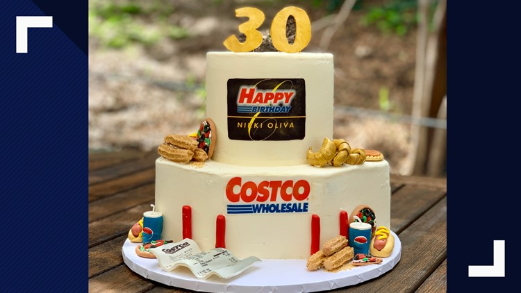Excellent Bakers Amazing Costco Birthday Cake Includes Samples Churros Birthday Cards Printable Opercafe Filternl