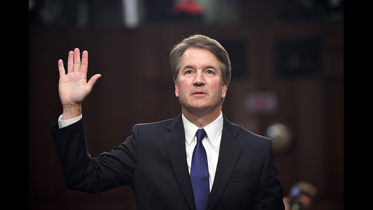 Supreme Court nominee Brett Kavanaughdenied an allegation of sexual misconduct involving a woman when he was 17.