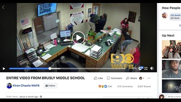 Former officers charged after leaked video shows them slamming middle school student