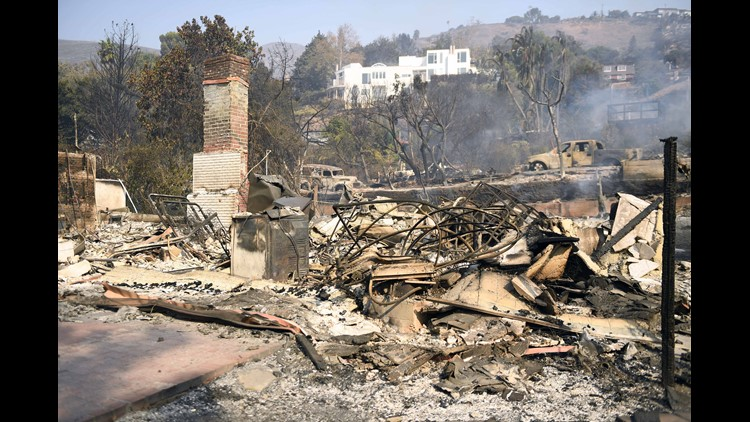 Usp News California Wildfires A Ent Usa Ca