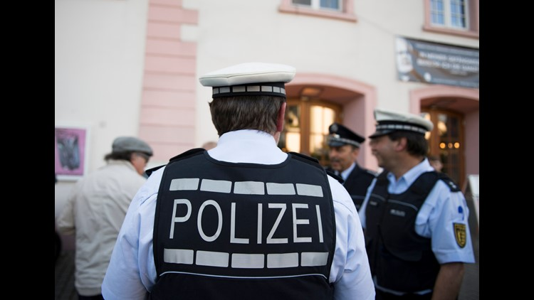 Displaying Nazi symbols is illegal in Germany, and far-right extremists are tracked by the country's domestic intelligence agency, the BfV.