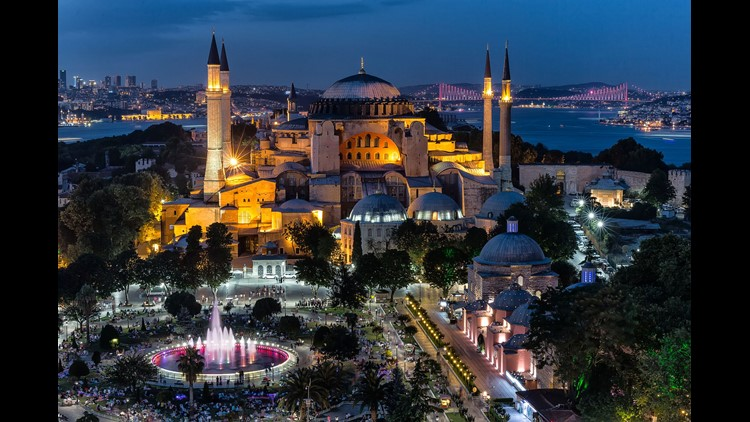 Built in the 6th century, Hagia Sophia is a highlight of any visit to Istanbul.