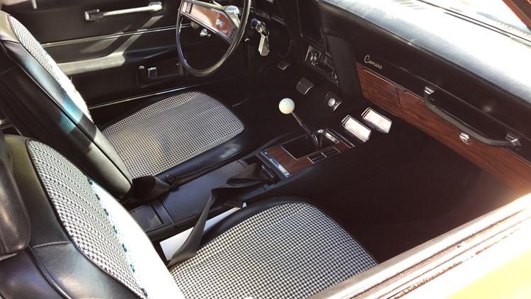 Interior 1969 Chevrolet Camaro SS convertible