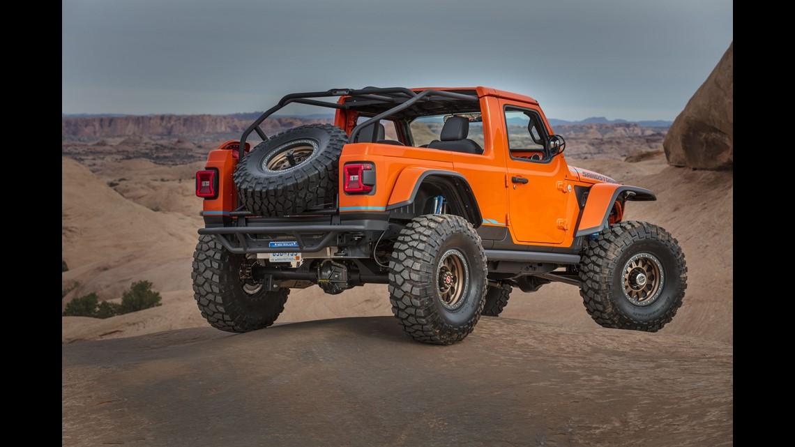 Wild Custom Jeeps Go Four Wheeling For Easter In Moab