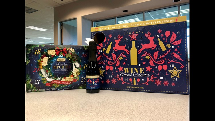 aldi wine and cheese advent calendars now on sale in us. Black Bedroom Furniture Sets. Home Design Ideas
