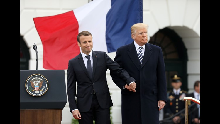 President Donald Trump will travel to Paris to participate in a Nov. 11 commemoration of the 100th anniversary of the armistice that ended WWI