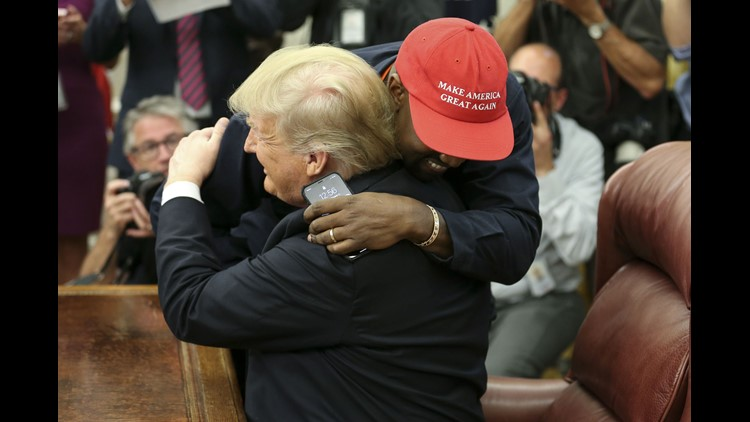Today's Quote: Kanye West, during a 10-minute soliloquy in the Oval Office on Thursday.