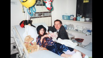 Child's crisis becomes Christmas miracle. 20 years later, family celebrates daughter's 'normal life'