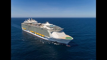 World's largest cruise ship, Symphony of the Seas, to make