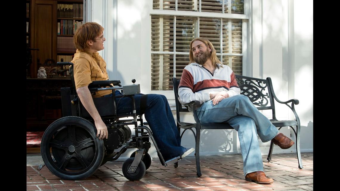 How Joaquin Phoenix played a quadriplegic cartoonist in 'He Won't