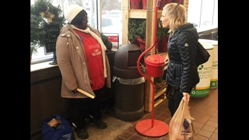 Gold coin donations in Salvation Army kettles spark speculation about donors