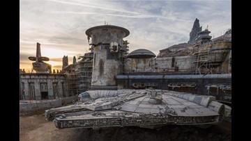 Sneak peek: The new Millennium Falcon at Disney's Star Wars land