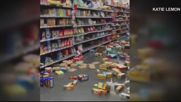 'My legs just started to wobble': Oregon families visiting California recount earthquake