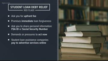 Warning signs: Beware of student loan debt scams