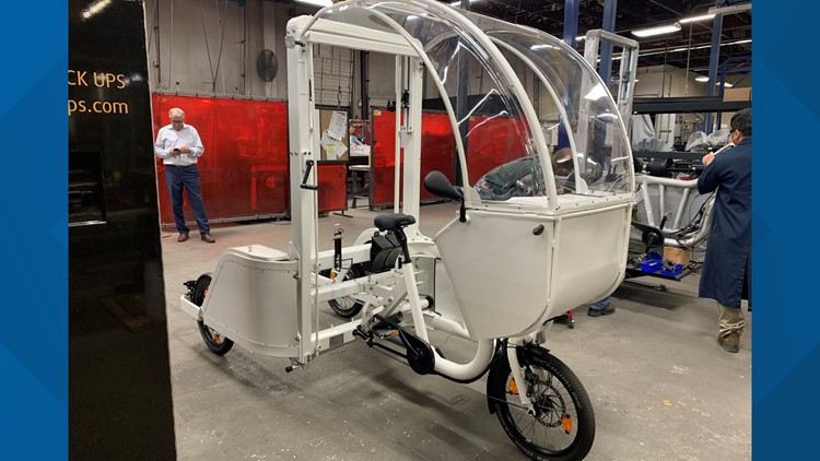 Electric delivery trikes are being tested in Seattle