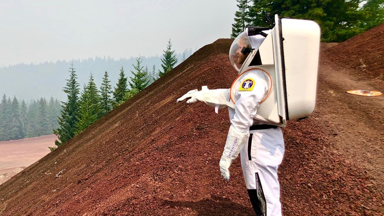 NASA tests spacesuits in Oregon, echoing 1960s race to space