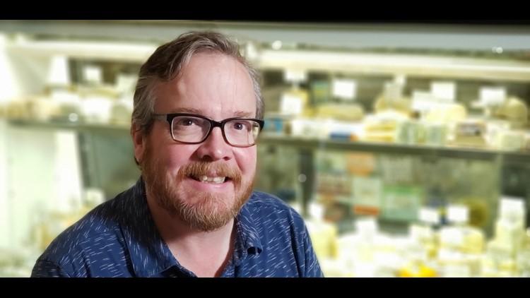 Steve Jones, author and cheesemonger at Cheese Bar