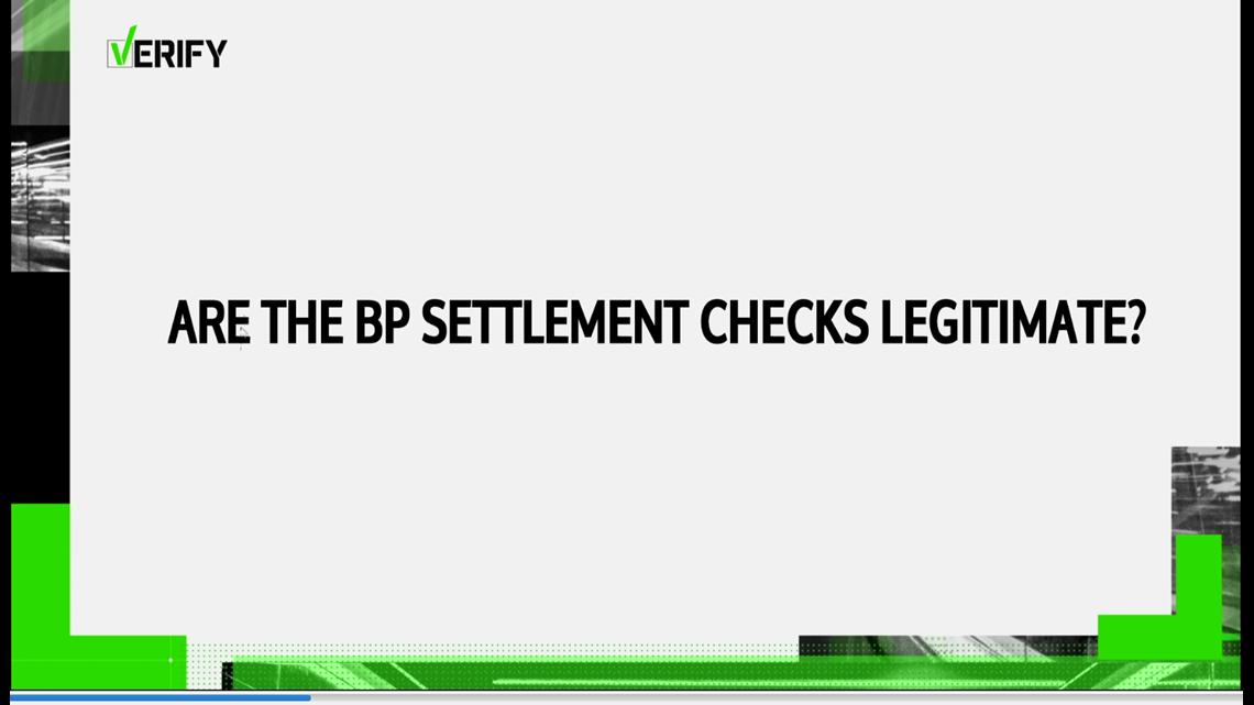 bp oil settlement checks real kingcom
