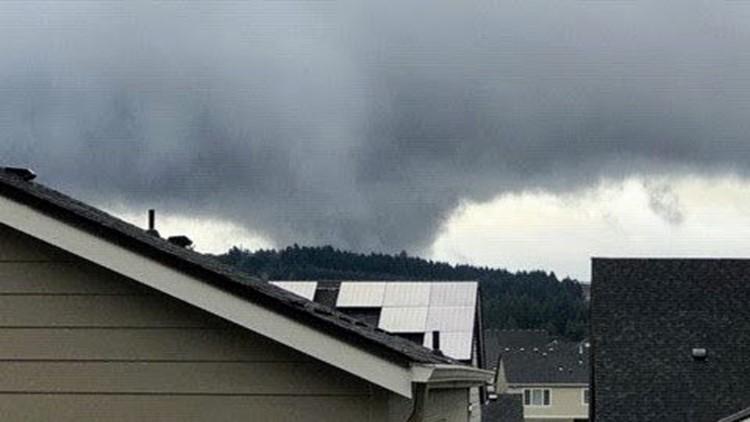 Pumpkin patch hit by apparent tornado damage in northwest Multnomah County