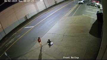 Surveillance video shows more people climbing out of Portland sewer
