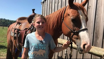 10-year-old horse trainer gets gift of a lifetime from Washington rescue