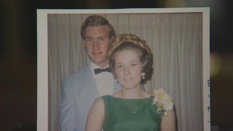 Steve and Joni Goodwin in 1967.
