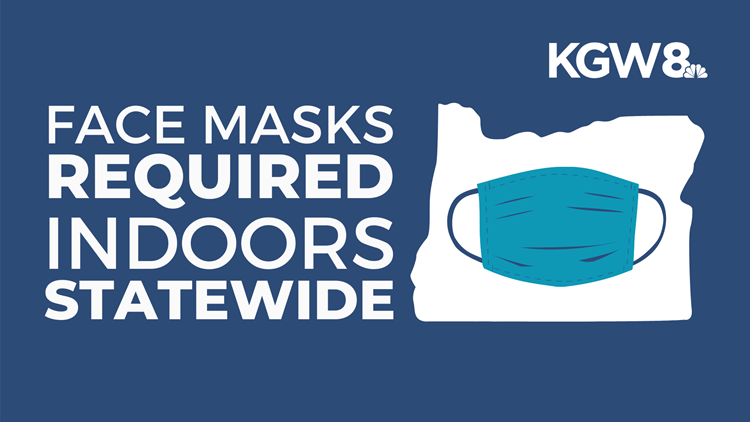 All Oregonians 5 and older required to wear face masks in indoor public places