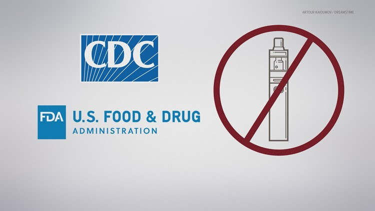 CDC and FDA recommends everyone stops vaping.