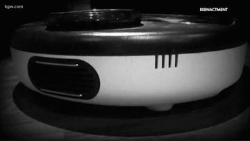 Watch: Police body cam video of Oregon Roomba vacuum burglar