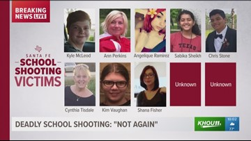 Some victims identified in Santa Fe mass shooting