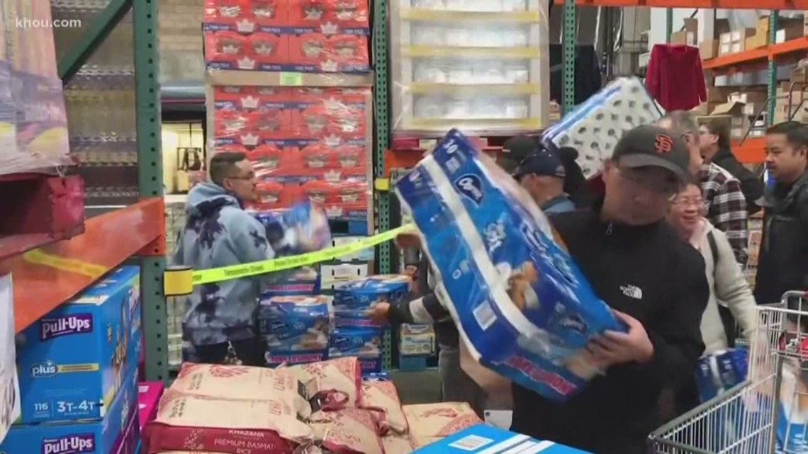 Coronavirus preps: Why are  people stocking up on toilet paper?