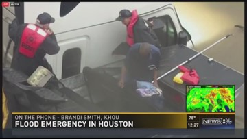 WFAA reporter recounts rescue of man in truck