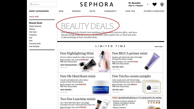11 ways to save at Sephora   king5 com