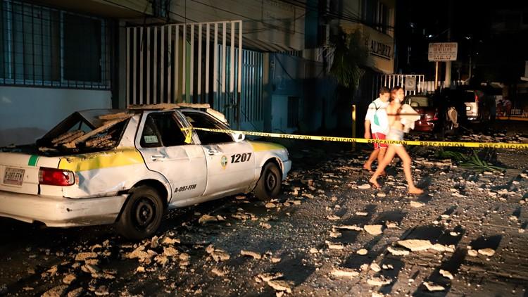 7.0 magnitude earthquake near Mexico's Acapulco kills at least 1