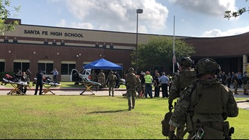 Police scanner of Texas shooting: 'Active shooter...several people down'