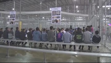 WATCH: Border Patrol releases video of immigrant detention facility in McAllen