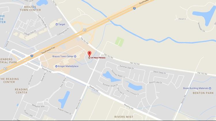 Location of the Rosenberg sinkhole. (Photo: Google Maps)