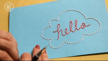 How to Embroider on Paper