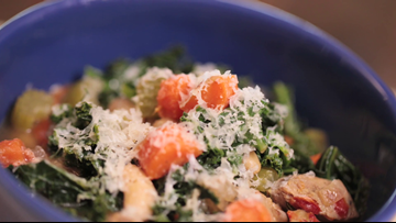 Liesl's White Bean, Kale & Sausage Soup Recipe