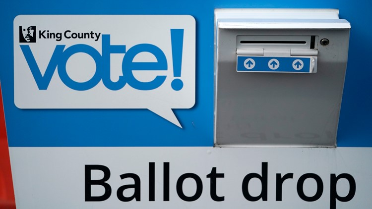 King County general election ballots mailed Wednesday