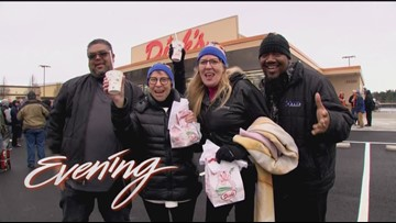 Wed 12/12, Dick's Drive-In Kent Grand Opening, Full Episode KING 5 Evening