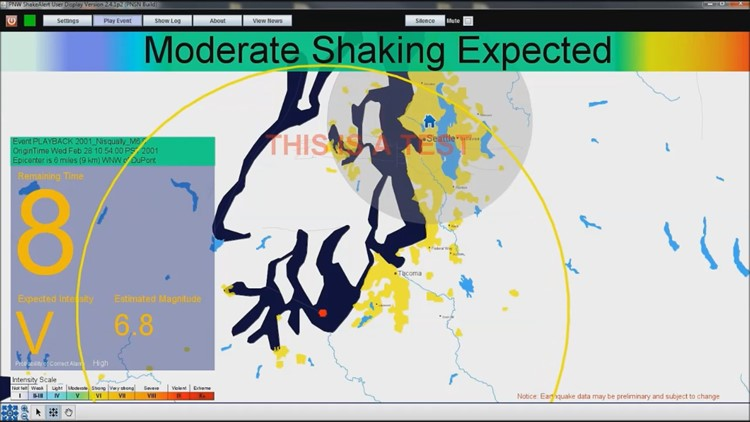 The science behind ShakeAlert earthquake early warning system