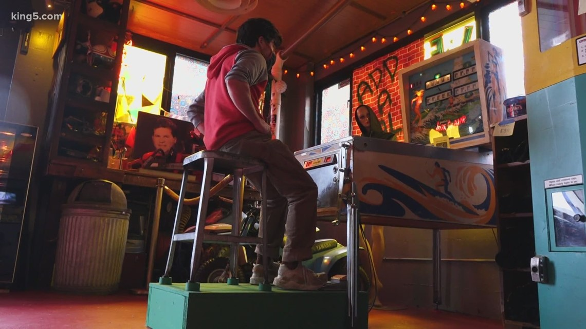 Seattle arcade thinks on its feet, introduces touchless pinball