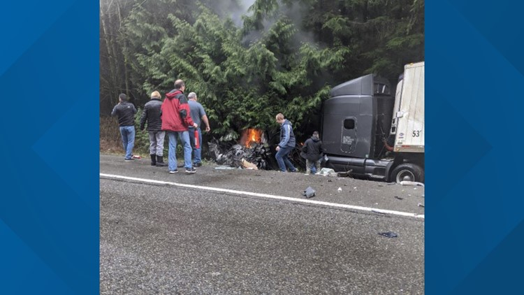 State Route 18 reopens hours after deadly crash near Issaquah