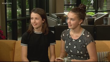 Seattle teens tackle climate change with 'plantable plates'