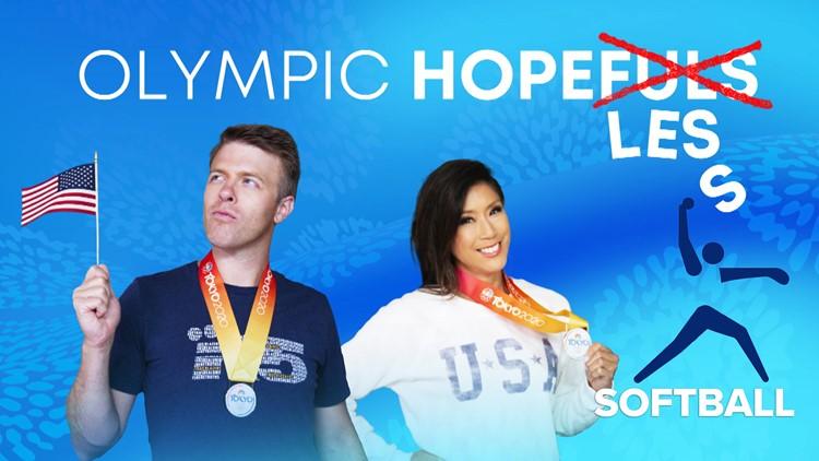 Olympic Hopeless: Jake and Mimi try softball at UW
